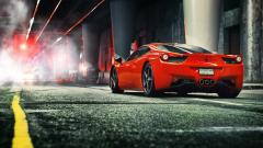 Red Ferrari Wallpaper 36327