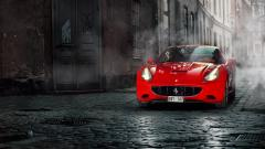Red Ferrari Wallpaper 36330