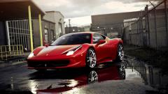 Red Ferrari Wallpaper 36336