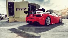 Red Ferrari Wallpapers 36325