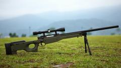 Sniper Rifle Wallpaper 44090