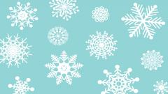 Snowflake Background 18284