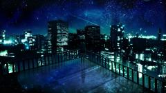 Stunning Anime City Wallpaper 42583