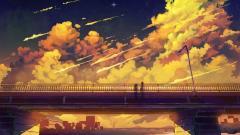 Stunning Anime Scenery Wallpaper 42595