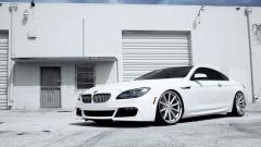 White BMW 6 Series Wallpaper 43418