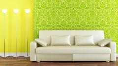 White Couch Wallpaper 42527