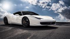 White Ferrari 36130