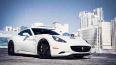 White Ferrari Wallpaper 36133