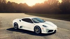White Ferrari Wallpaper HD 36129