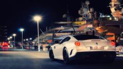 White Ferrari Wallpapers 36137