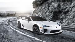 White Lexus LFA Wallpaper 44925