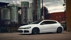 White Volkswagen Scirocco Wallpaper 42994