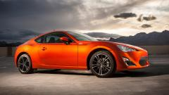 Wonderful Orange Subaru BRZ Wallpaper 42501