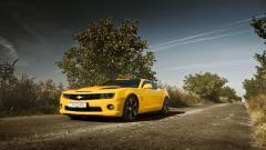 Yellow Car 32643