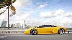 Yellow Lamborghini Background 35100