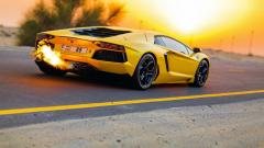 Yellow Lamborghini HD 35094