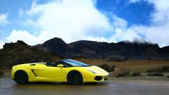 Yellow Lamborghini Wallpaper 35091