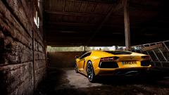 Yellow Lamborghini Wallpaper 35098
