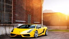 Yellow Lamborghini Wallpaper HD 35097