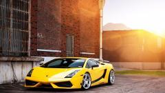 Yellow Lamborghini Wallpaper HD 35097