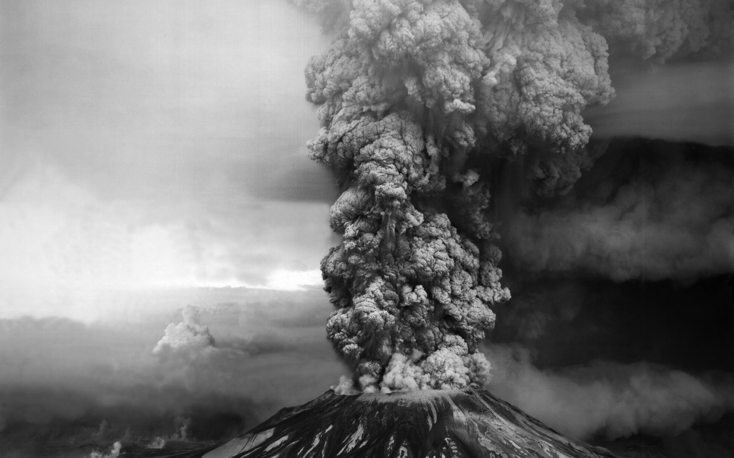 Volcano Smoke Wallpaper 42557 2560x1600 px HDWallSourcecom