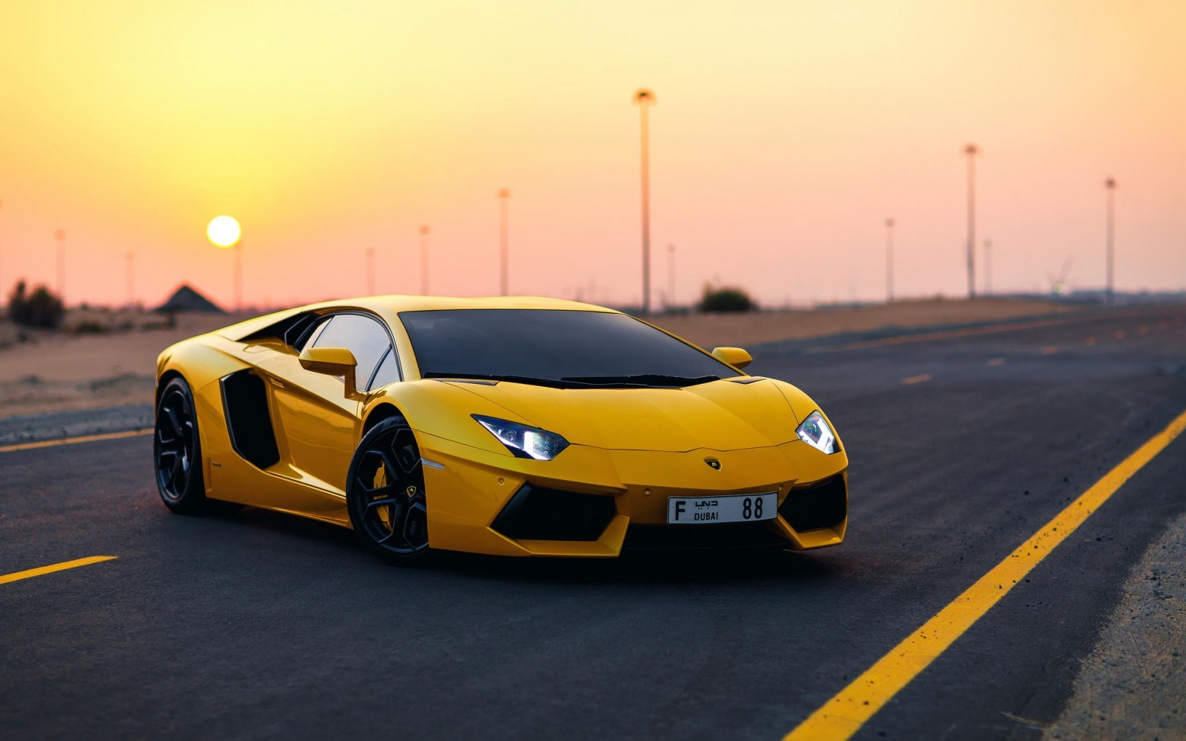 yellow lamborghini wallpaper 35093 1680x1050 px ~ hdwallsource