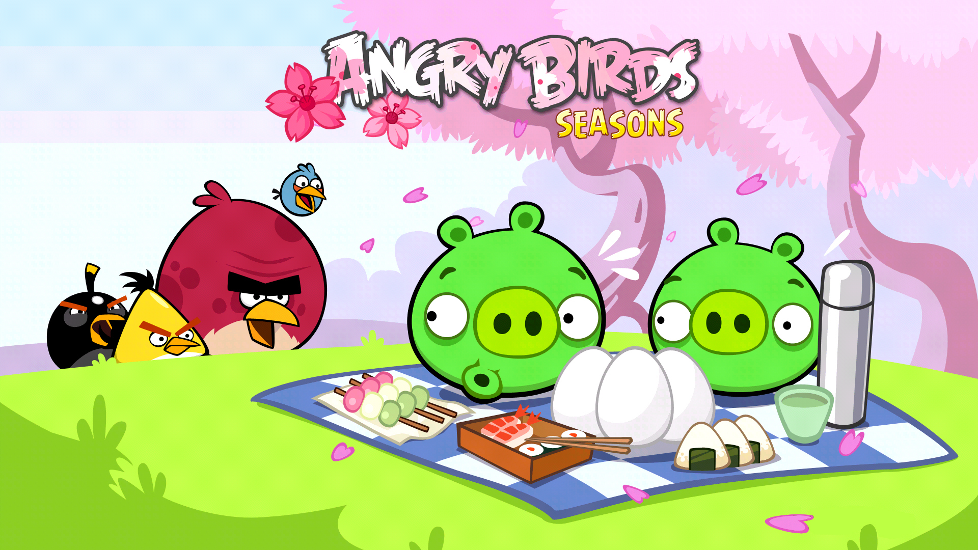 Angry birds seasons wallpaper 47329 1920x1080 px angry birds seasons wallpaper 47329 voltagebd Images