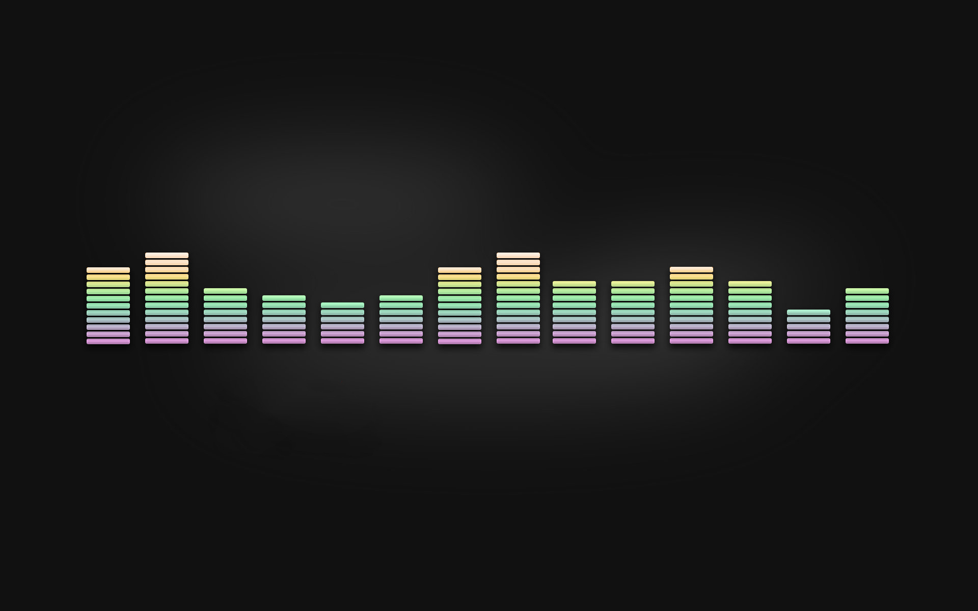 colorful equalizer wallpaper 47340 1920x1200 px