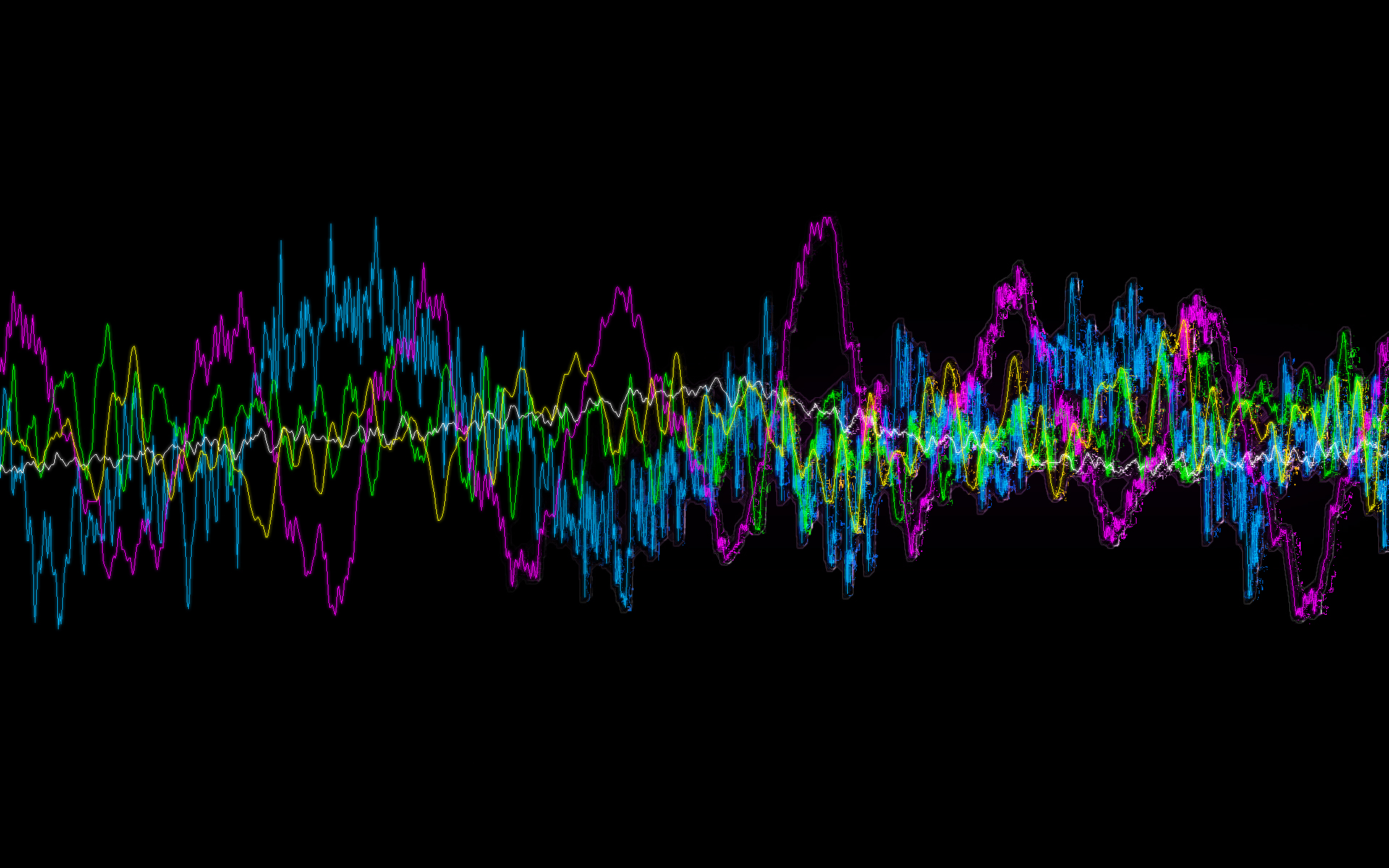 colorful sound wave wallpaper 47337