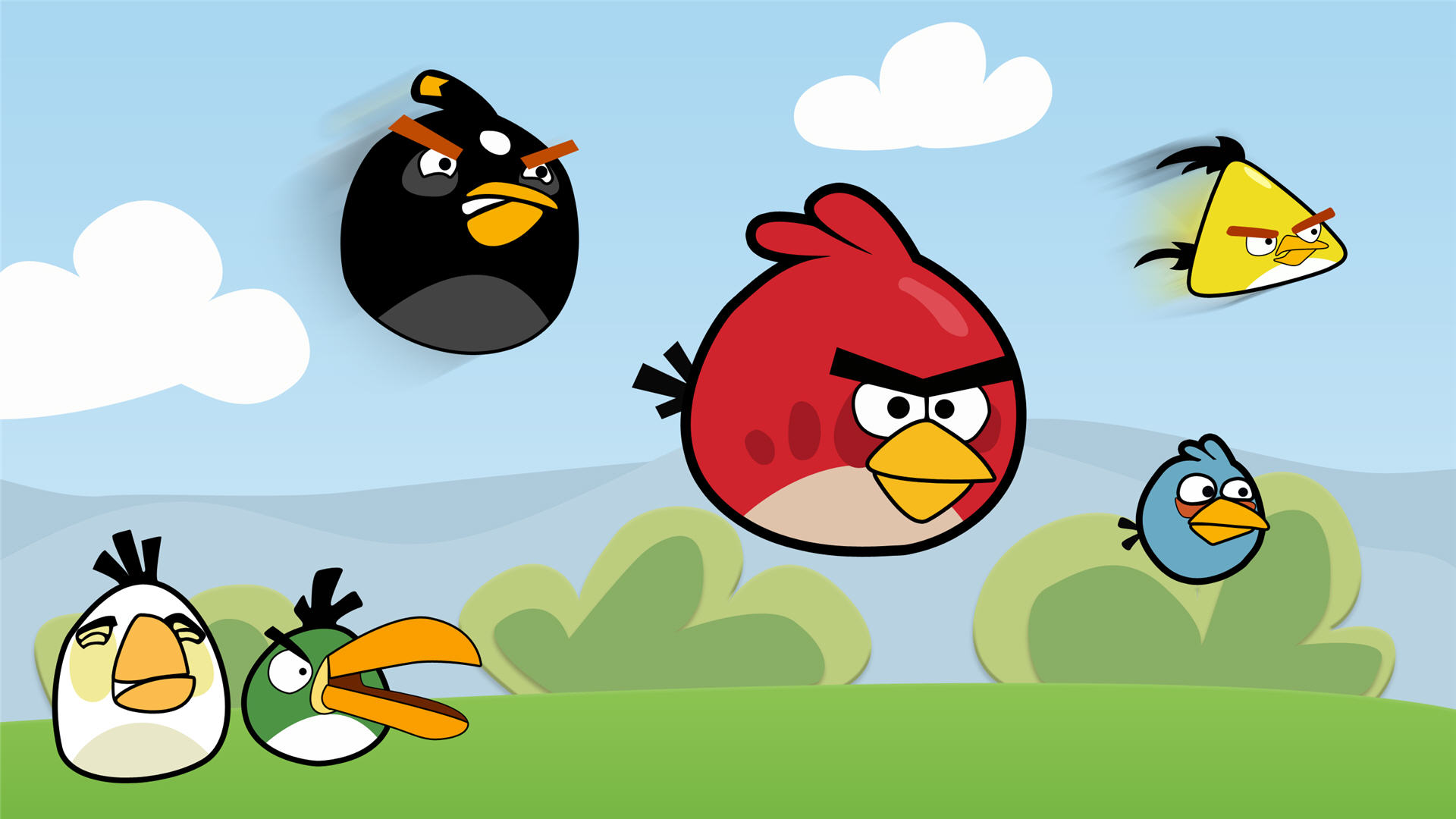 fantastic angry birds wallpaper 47330