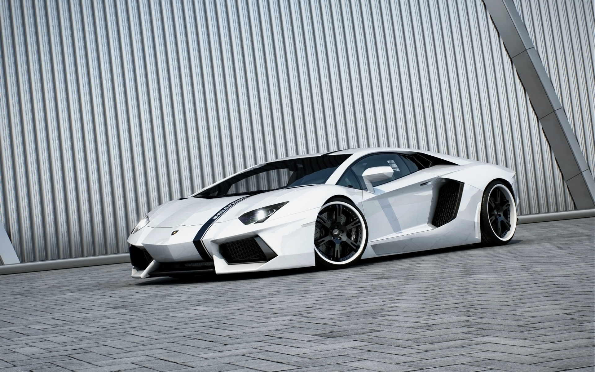 beautiful white aventador wallpaper 46565