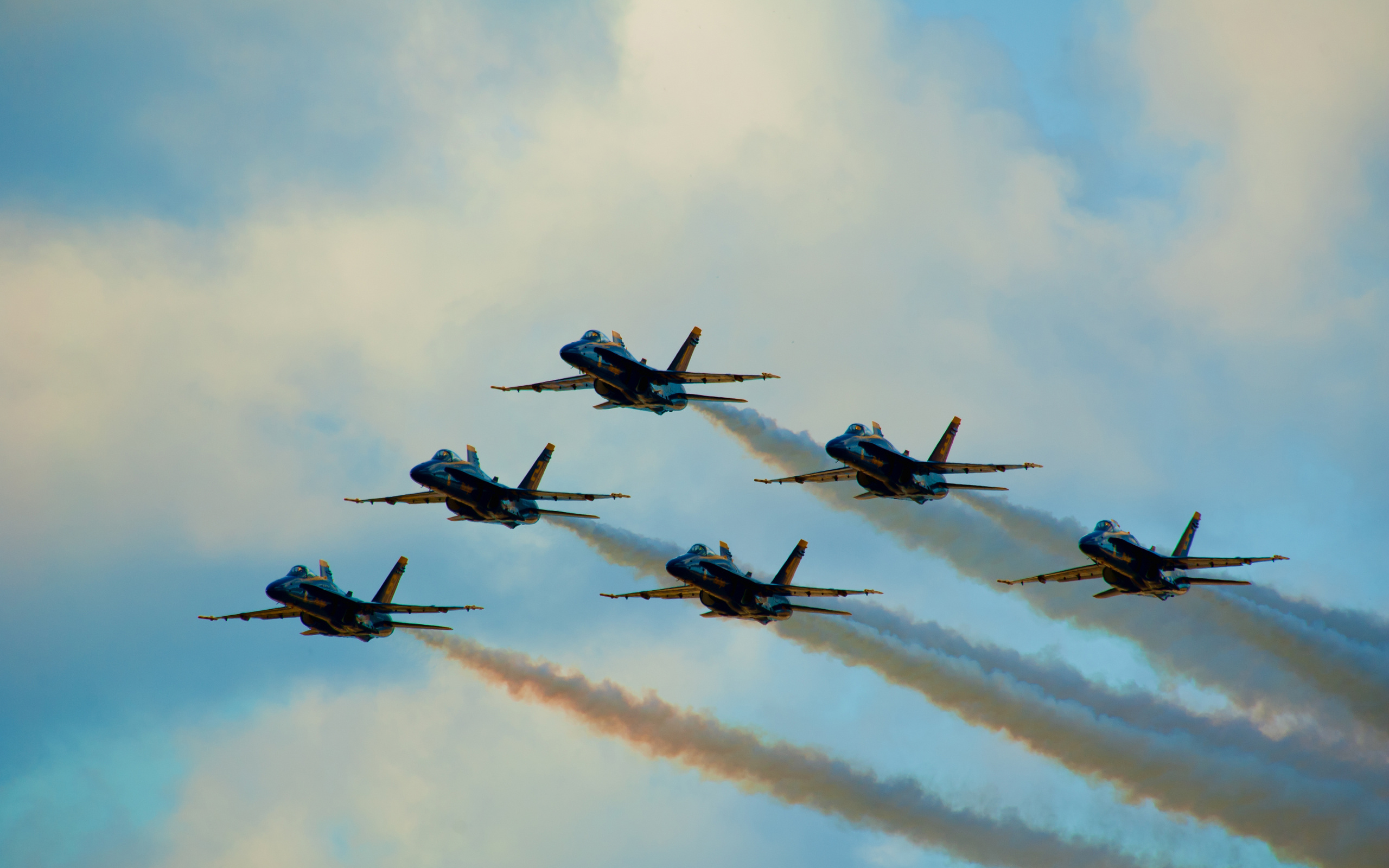 fantastic jet formation wallpaper 45680