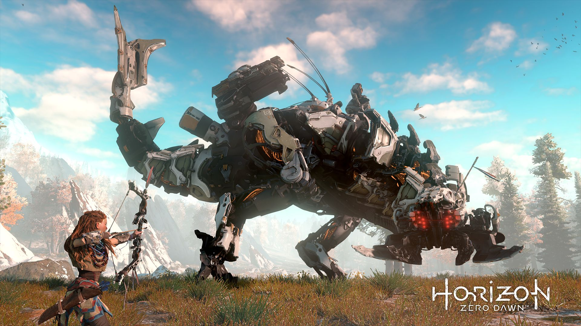 horizon zero dawn game wallpaper 48892