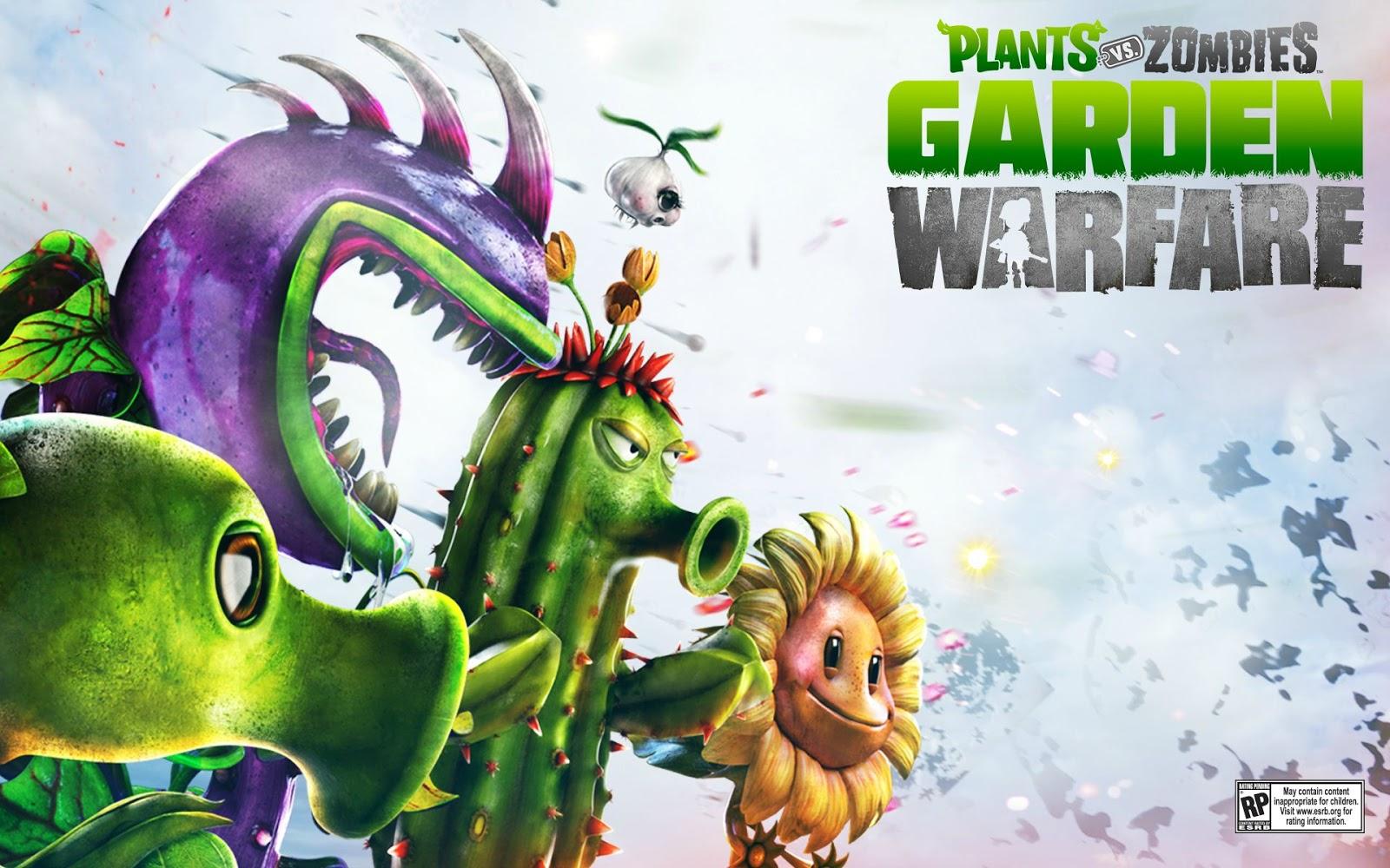 Plants Vs Zombies Garden Warfare Wallpaper 48564 1600x1000px