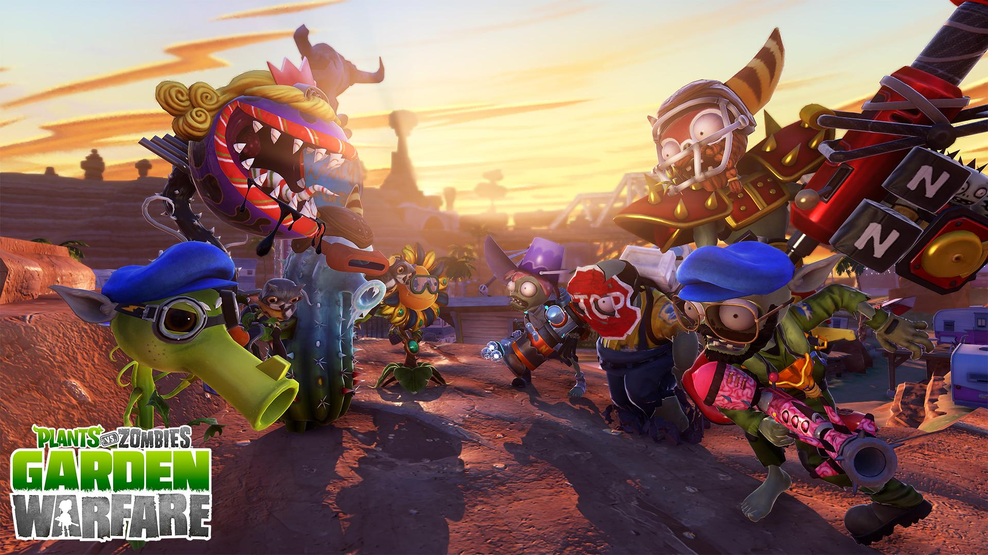 plants vs zombies garden warfare wallpaper hd 48566 1920x1080 px
