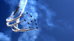 Awesome Jet Formation Wallpaper 45679