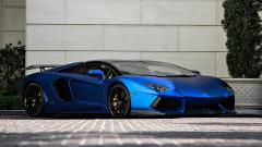 Blue Aventador Wallpaper 46567