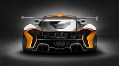 McLaren P1 GTR Rear View Wallpaper 48585