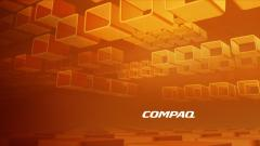 Orange Compaq Wallpaper 45424