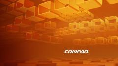 Orange Compaq Wallpaper 45424