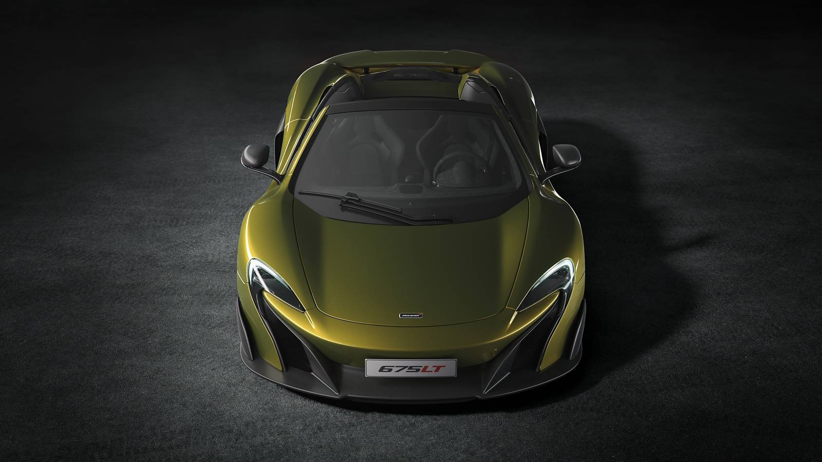 2016 mclaren 675lt spider front view wallpaper 48905