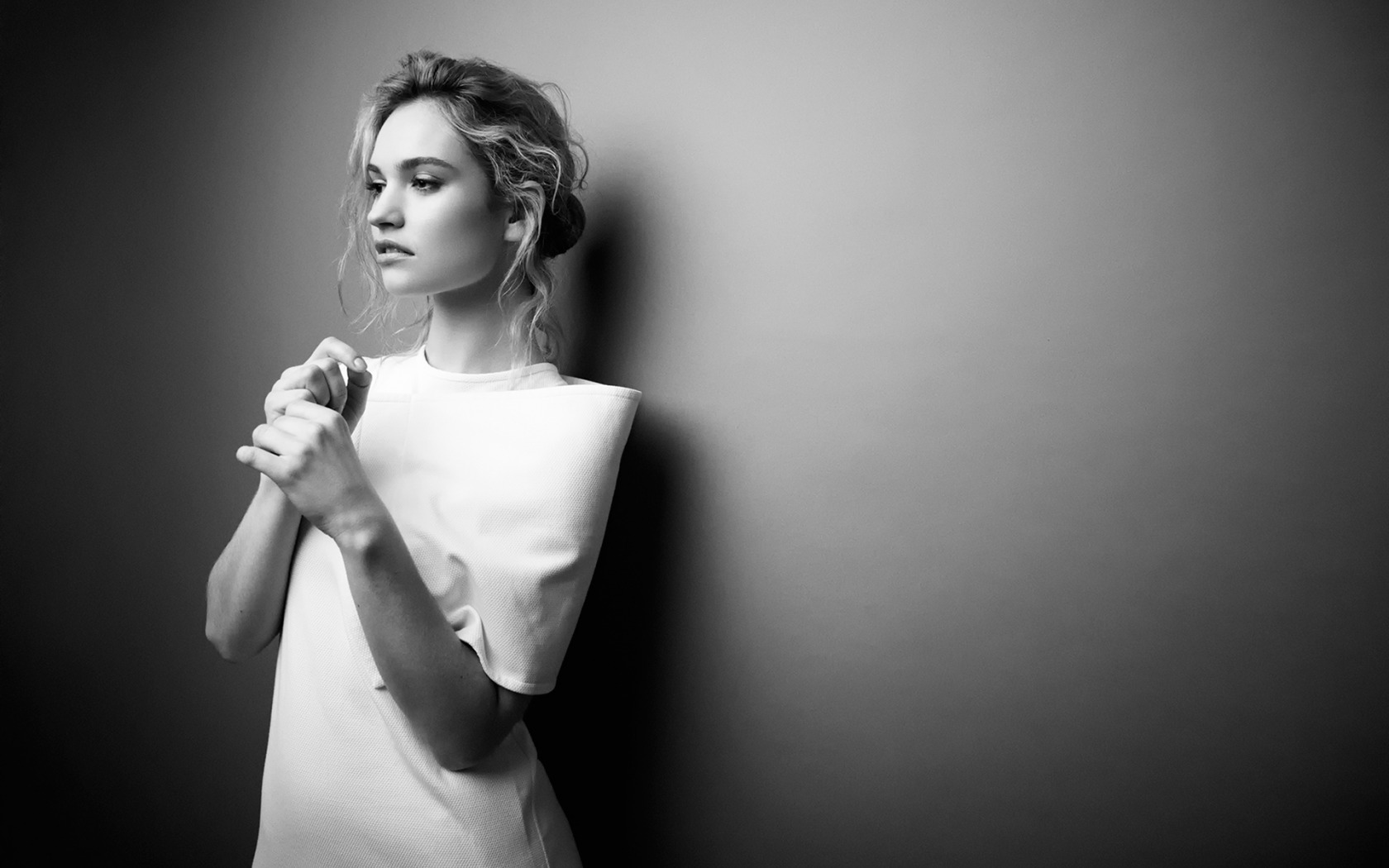 beautiful lily james wallpaper 48558