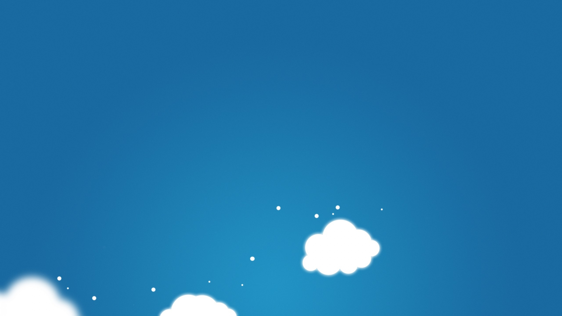 Cartoon Clouds Wallpaper 46932