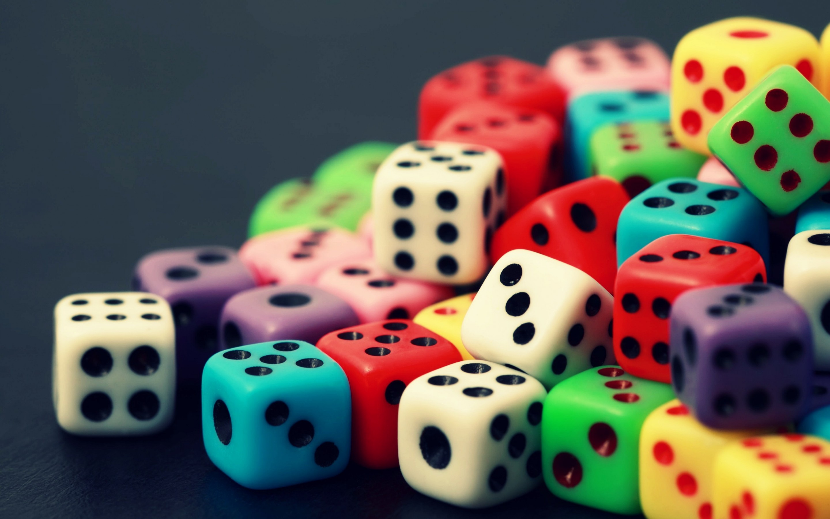 colorful dice wallpaper 46030