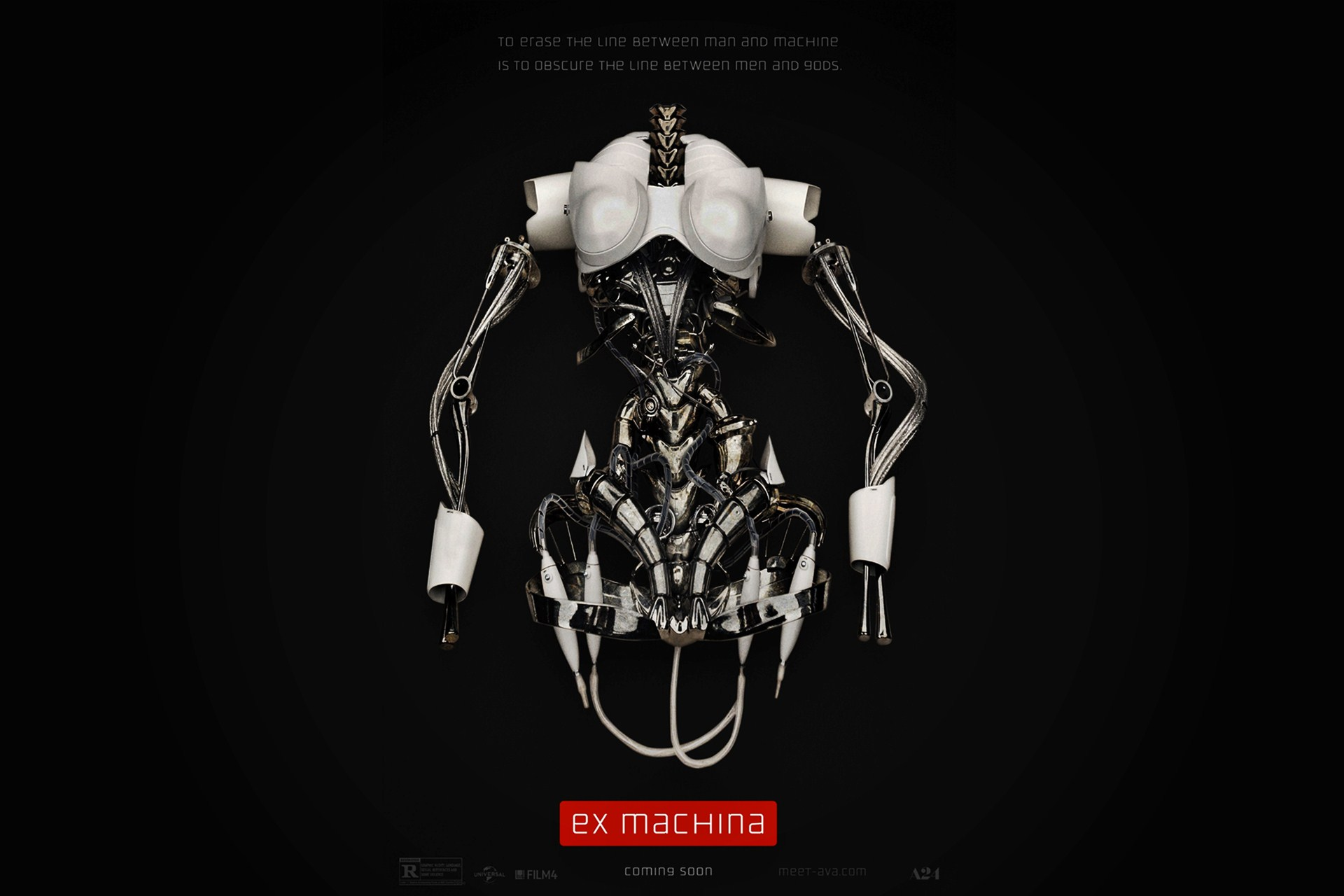 ex machina movie poster wallpaper 48913