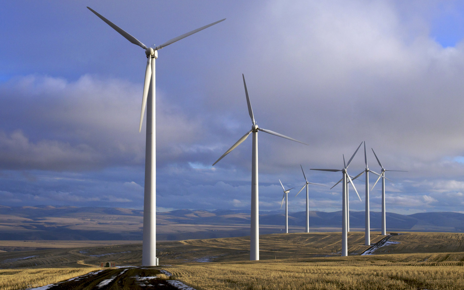 Fantastic Wind Energy Wallpaper 45495 1920x1200 Px