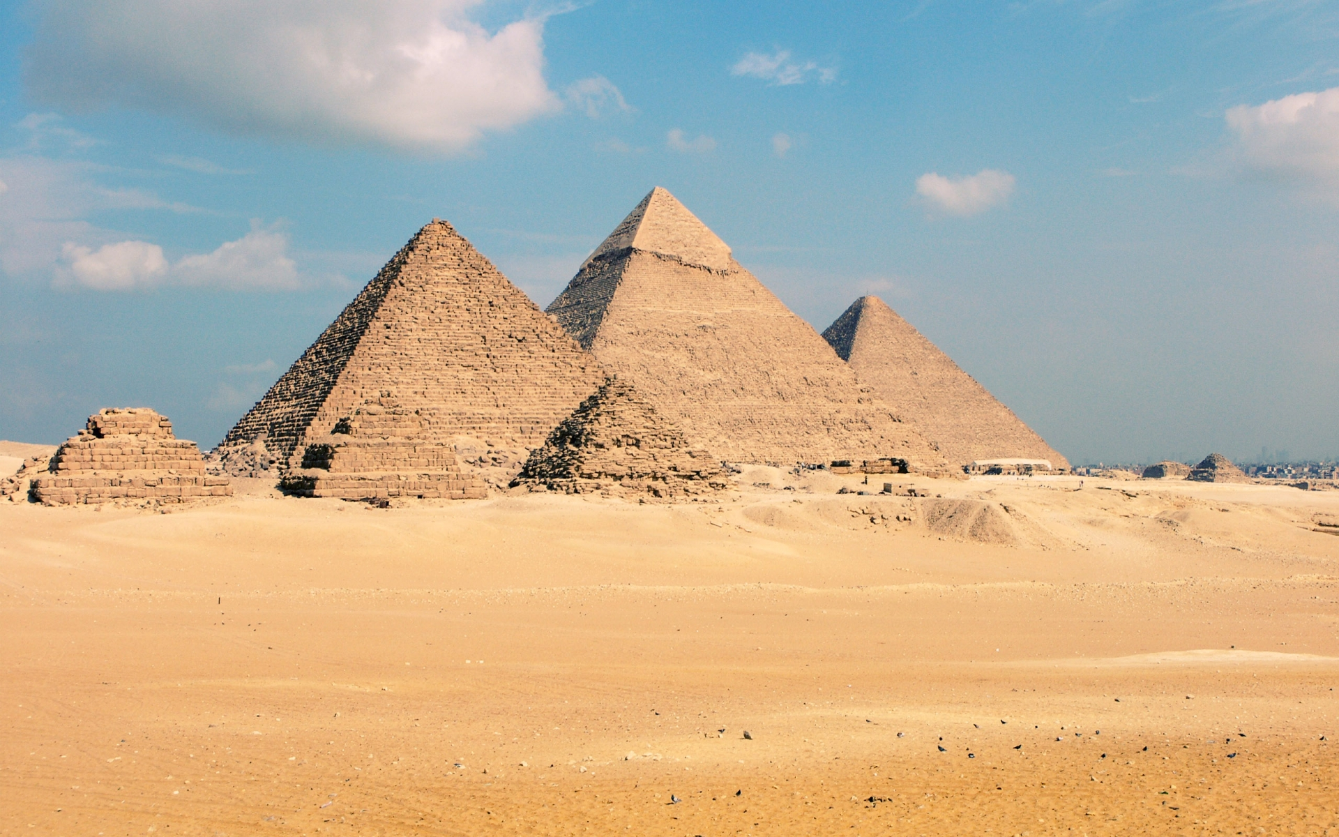 Great Sphinx, Chephren Pyramid, Giza, Egypt  № 2245289 загрузить