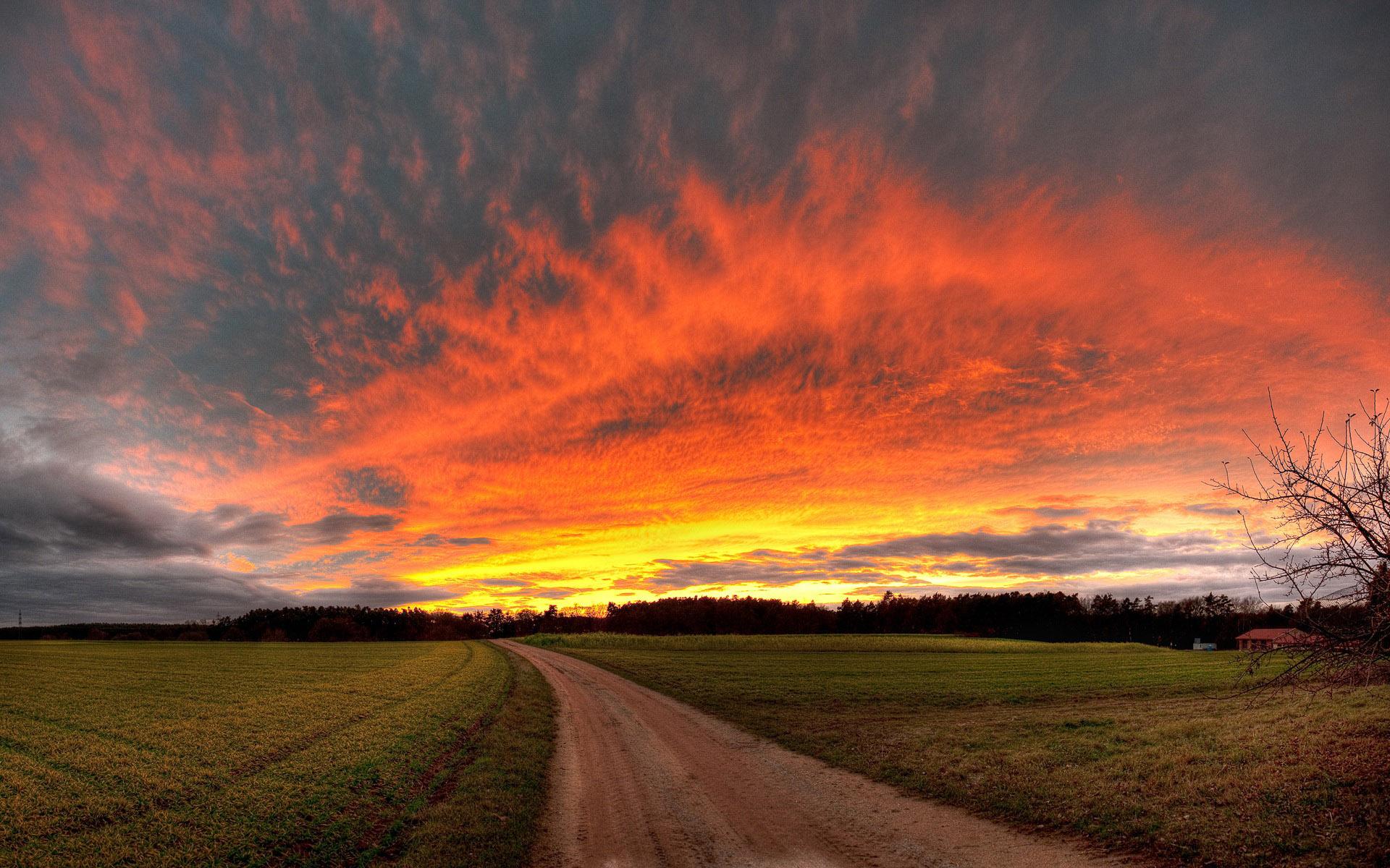 stunning sunset wallpaper 45278
