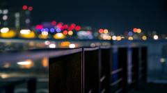 Fantastic City Blur Wallpaper 47108