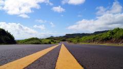 Maui Road Wallpaper